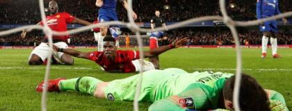 Man Utd Knock Holders Chelsea Out Of FA Cup