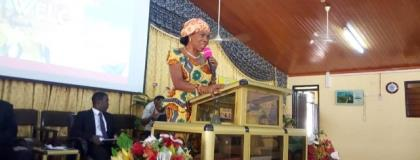 Mrs Elizabeth Sackey, the Deputy Greater Accra Regional Minister, has urged the church to be an agent of transformation in the area of sanitation