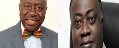 Kwame Owusu, Director-General of GMA andEdward Osei, Director of Ports, GPHA