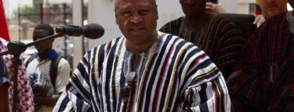 John Mahama says he is delighted by the President's initiative.