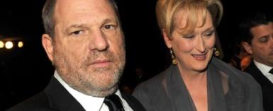 Weinstein sorry for using Streep's name