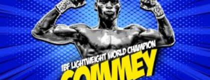Hardwork, diligence and determination reaps reward for Richard Commey