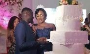 Former Arsenal Defender Emmanuel Eboué Remarries Longtime Girlfriend [PHOTOS]