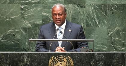 Flashback 2015: president Mahama addresses the UN on Ebola