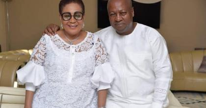 You're My World — Mahama Tells His Wife On Her Birthday [Photos]