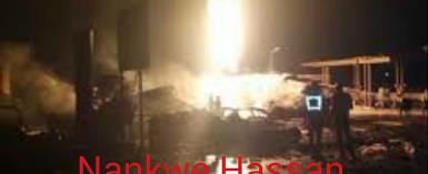 Residents Flee Gas Depot Explosion In Sunyani