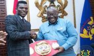 Akufo-Addo Hails New IBF Lightweight Champion Richard Commey