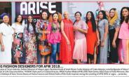 Meet The Designers! ARISE Fashion Week 2018