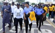 RedAce, Ambode, Others walk to end Sexual, Domestic Violence
