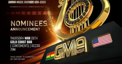 Top Ghana Musicians To Perform At GMA USA 2020 Nominees Announcement
