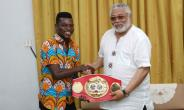 Avoid Drinking, Smoking And Womanizing - Rawlings Tells Commey