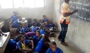 Pathetic! Pupils Of Fakwasi Presby Basic School Study On Bare Floor