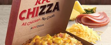 Yummy! KFC Is Now Selling Pizza Made With A Fried Chicken 'Crust'