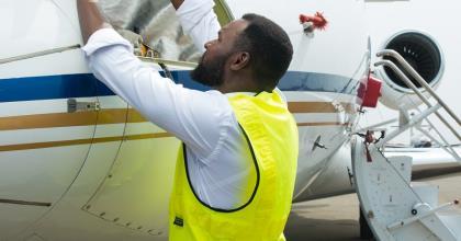 Life As An Aircraft Engineer: Nigeria's Engineer Isaac Balami Shares Experiences