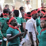 Private Nurses Threaten Huge Demo In 10-Days' Time If Gov't Refuse To Offer Them Jobs