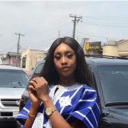 Former MBGN Queen Emmanuella Yaboh Rock Agbada for her creative Birthday shoot