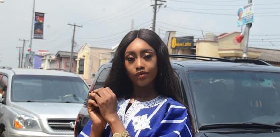 Former MBGN Queen Emmanuella Yaboh Rock Agbada for her creative Birthday shoot