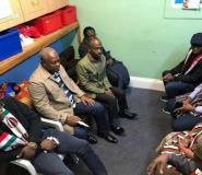 [In shot] – Asiedu Nketia, John Mahama, Kofi Adams