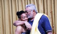 Former President Rawlings and daughter Zanetor Rawlings