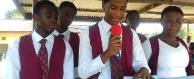 Actor Rahim Banda elected school prefect for Ghana National College