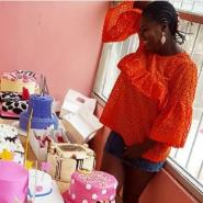 Actress, Adediwura Gold Gets 28 Cakes for her 40th Birthday (photos)