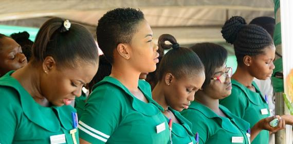 UPNMG Brings Relief To Ghanaian Nurses & Midwives
