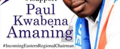 Paul Amaning To Contest Eastern NPP Chair