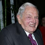 David Rockefeller, former Chase Manhattan CEO