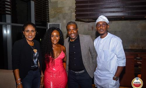 Tobi & CeeC Spotted At Dinner After Explosive BBNaija Reunio...