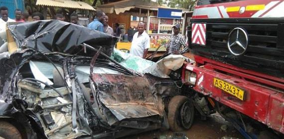 10 Driving Mistakes Attributing To Road Accidents In Ghana