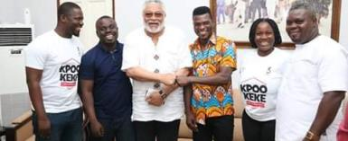 Richard Commey, Liberty Industries Call On Rawlings