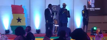 Abeiku Santana and Afia Pokua win Excellence in Media Awards