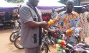 MP Ayew Afriye Donates 20k, Motorcycles To Raise Educational Standards