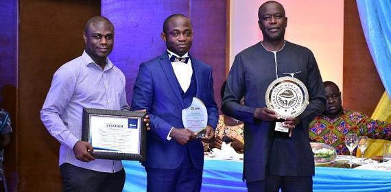 MTN Gets Platinum Award From GRA