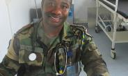 Dr. Bny Agyiri is part of the Ghanaian Battalion (GHANBATT) based in Leer. So far, Dr. Agyiri has delivered 35 babies, with a 100 per cent survival rate, in an area with no other health facilities.