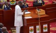 Finance Minister, Ken Ofori-Atta delivering the Budget Statement