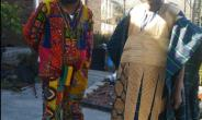 Blakk Rasta with chief Bin Iddirisu