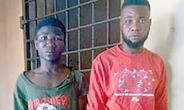BUSTED! The alleged robbers