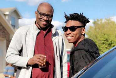Singer, Mayorkun Finally Meets with Dad After 2years