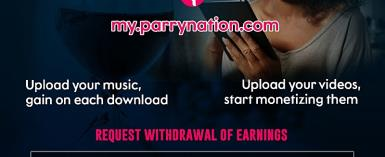Parrynation The Best Online Music Website That Pays Is Live
