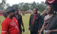 Osei Assibey welcoming Opambuor