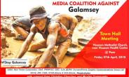 Media Coalition Against Galamsey's Maiden Town Hall Meeting