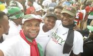 Mother Of All Walks: Ndc Climax It's Unity Walk At Aflao In The Volta Region