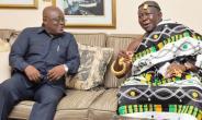 President Akufo-Addo Holds In-Camera Talks With Asantehene Otumfuo