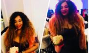 Former Most Beautiful girl in Nigeria, Flora Jacobs Parties in London with Seyi Law others