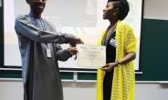Actress, Ufuoma McDermott Completes Certificate Course, now a Graduate