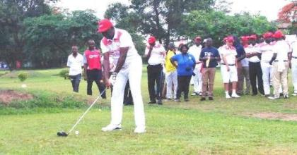 Otumfuo Calls For Golf Support
