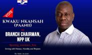 Derek Kwaku Nkasah Elected New NPP-UK Branch Chairman