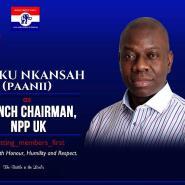 Derek Kwaku Nkasah Elected New NPP-UK Branch Chairman