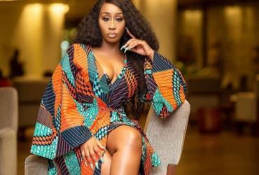 Singer, Victoria Kimani Rocks Ankara outfit to AFRIMA Ghana Unveiling